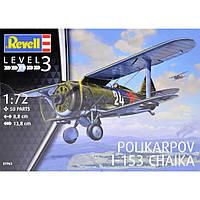 Самолет Polikarpov I-153 CHAIKA 1/72 Revell 03963