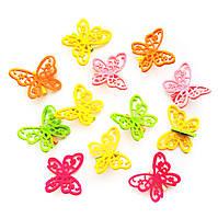 Бабочка на прищепке (5 см) HY 11-188