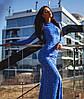 Платье женское гипюр в пол рыбка, фото 4