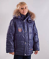 Куртка зимняя для мальчика Donilo на холлофайбере 122,128,134,140