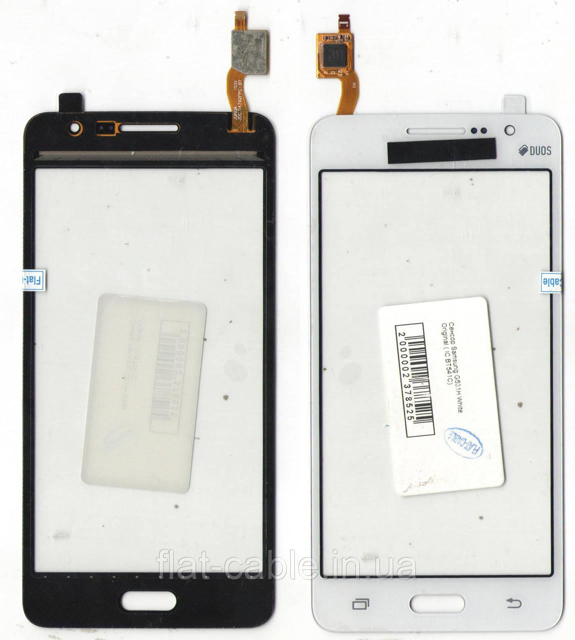 Сенсор Samsung G531H White Original (IC BT541C)