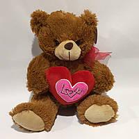 Мягкая игрушка сердце Мишка