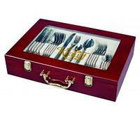 Набор столовых приборов 72 предмета в чемодане Grace 395993236