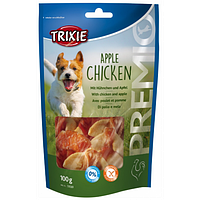 Trixie TX-31593 PREMIO Apple Chicken 100гр - лакомство для собак   с куриной грудкой и яблоком