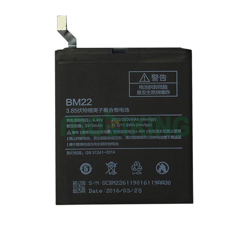 Оригинальная батарея Xiaomi Mi5 (BM22) для мобильного телефона, аккумулятор для смартфона.