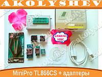 Программатор MiniPro TL866CS  в комплекте с адаптерами