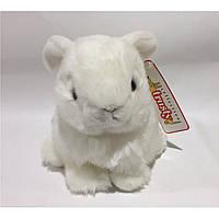Мягкая игрушка кролик белый