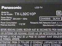 Платы от TV LCD Panasonic TX-L32C10P поблочно, в комплекте (разбита матрица)., фото 1