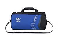Спортивная сумка Adidas синяя (реплика)