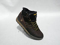 Зимние мужские кожаные ботинки Timberland, фото 1