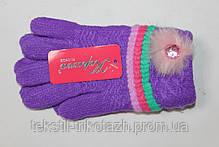 Перчатки на девочку №5518 (уп 12 шт) , фото 3