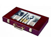 Набор столовых приборов 24 предмета в чемодане Vintage 396012548