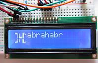 LCD ЖК дисплей 1602 для Arduino