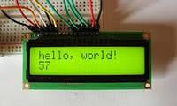LCD ЖК дисплей 1602 для Arduino ЗЕЛЕНЫЙ