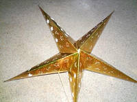 Звезда новогодняя 60 см.