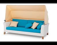 Софа Ванесса 2-х местная, мебель для бассейна, мебель для сауны, мебель для ресторана, для веранды