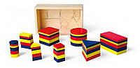 Набор для обучения Viga Toys Логические блоки 56164, фото 1