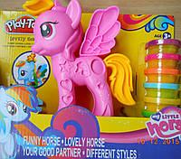 Набор для творчества Пони с мягким пластилином