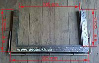 Уголок для чугунной плиты (нержавейка), фото 1