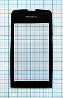 Тачскрин сенсорное стекло для Nokia 311 Asha black