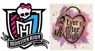Ляльки Monster high і Ever After High