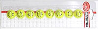 "Магнит для доски L-12315-8 ""Смайл"" жёлтый 8штук х20мм уп24"