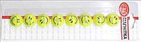 """Магнит L-12315-8 """"Смайл"""" жёлтый 8штук х20мм уп24"""