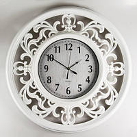 Большие ажурные настенные часы 66х5 см