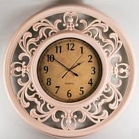 Большие ажурные часы на стену 66х5 см