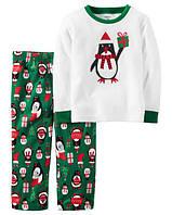 Пижама флисовая детская Пингвин