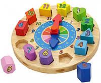 Детский пазл Часы Viga Toys 59235VG