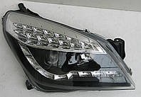 Opel Astra H оптика передняя черная LED