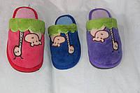 Тапочки детские,  12 пар в упаковке, Украина/ купить тапочки оптом,TAP 1652 TD-180