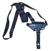 Кобура оперативная кожаная ПСМ, АЕ10 Медан 1004 формованная с кожаным креплением
