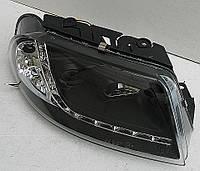 Volkswagen Passat B5+ оптика передняя черная