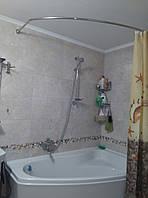 Карниз на угловые ванны из нержавейки