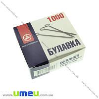 Булавки портновские, Серебро, 30 мм, 1 пачка (SEW-017729)