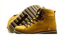 Мужские зимние кожаные ботинки CAT Expensive Arena 44