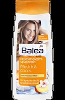 Шампунь  Увлажнение и питание с экстрактом кокоса для сухих волос Balea Shampoo Pfirsich & Cocos 300 мл