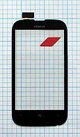 Тачскрин сенсорное стекло для Nokia Lumia 510 black