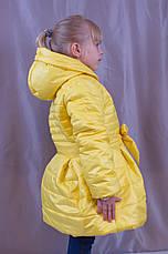 Красивое теплое пальто для девочки, р.104,110,116., фото 2