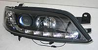 Opel Vectra B оптика передняя черная