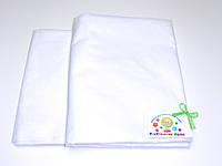 Детский постельный комплект  хлопок (белый)