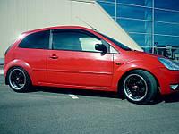 Дефлекторы окон Ford Fiesta V 3d 2002-2008 (Форд Фиеста) Cobra Tuning