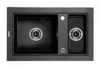 Мойка 1,5-камерная без полки Deante COUNTRY, графитовый гранит, 680х430х180 мм, фото 1