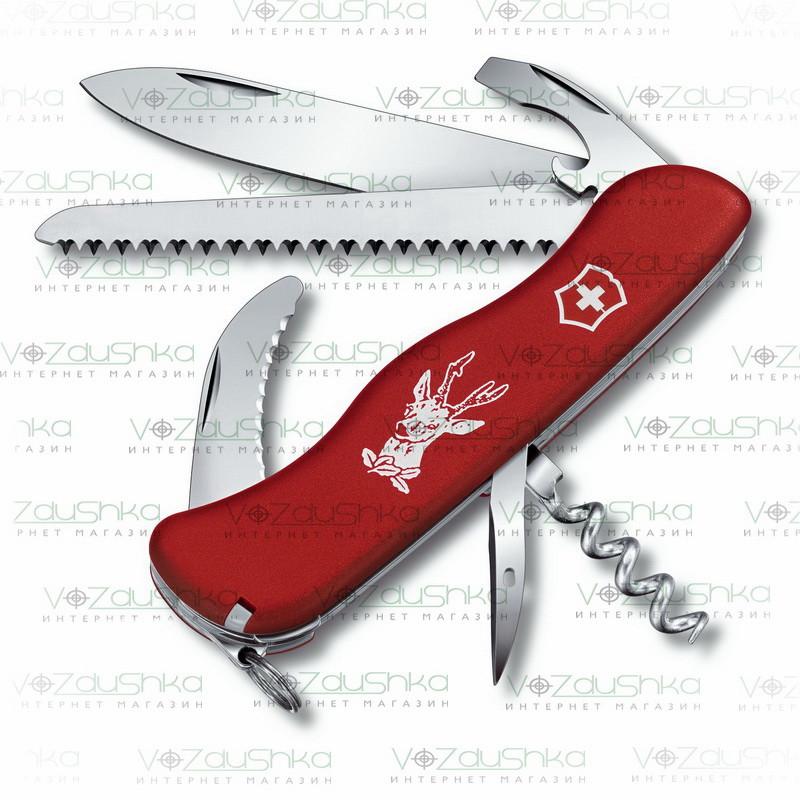 Нож Victorinox Hunter 0.8873 красный