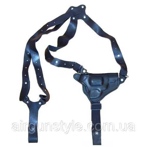 Кобура оперативная кожаная МЕ38 Медан 1005 формованная трехслойная с кожаным креплением
