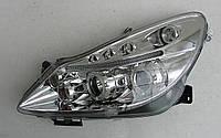 Opel Corsa D оптика передняя хром
