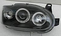 Ford Escort Mk6 оптика передняя черная