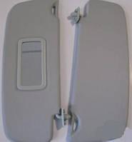 Солнцезащитные козырьки ВАЗ 2110-2112 с зеркалом завод